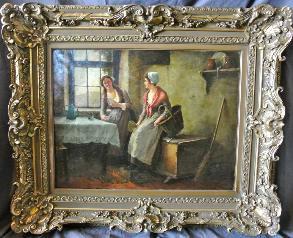 19th Century Paintings And More At J Amp M Antiques Of Wny