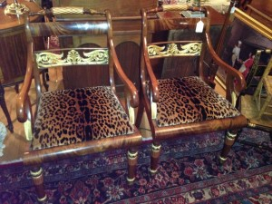 19th century Russian Chairs.