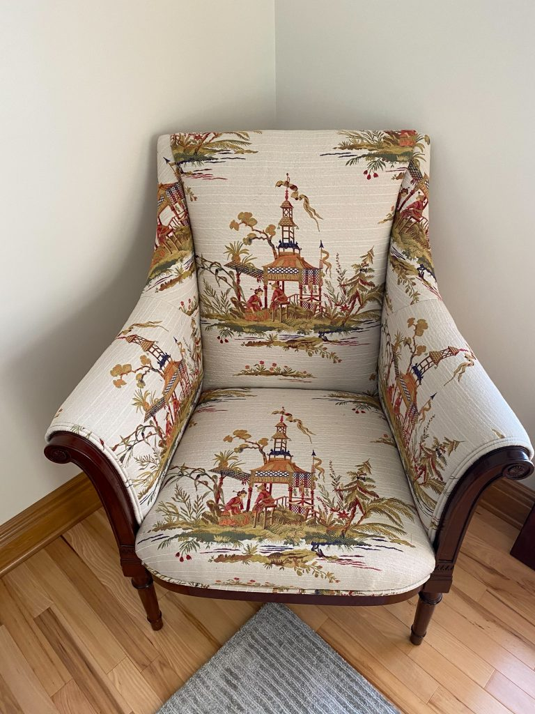 Chinoserie Fireside Chair